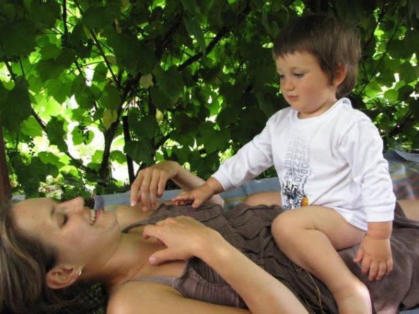 Маша родила двоих сыновей, в 2008 Мишу, спустя три года и сына Никиту.