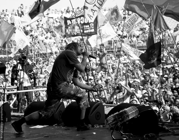 Нашествие 2012- выступление панк-рок группы Король и Шут