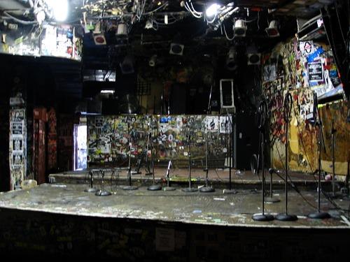 CBGB (Country, Bluegrass, Blues) -  рок-клуб был основан  Хилли Кристалом в декабре 1973 года в Нью-Йорке, в помещении старого бара.