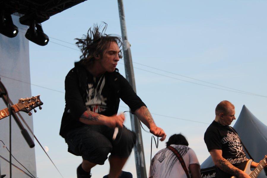 Традиционный ( третий по счёту ) рок-фестиваль в Тюмени «Катись квадрат»