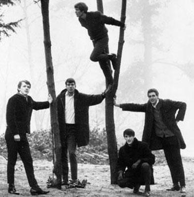 Первую волну Гаражного рока представляют такие группы как: The Sonics