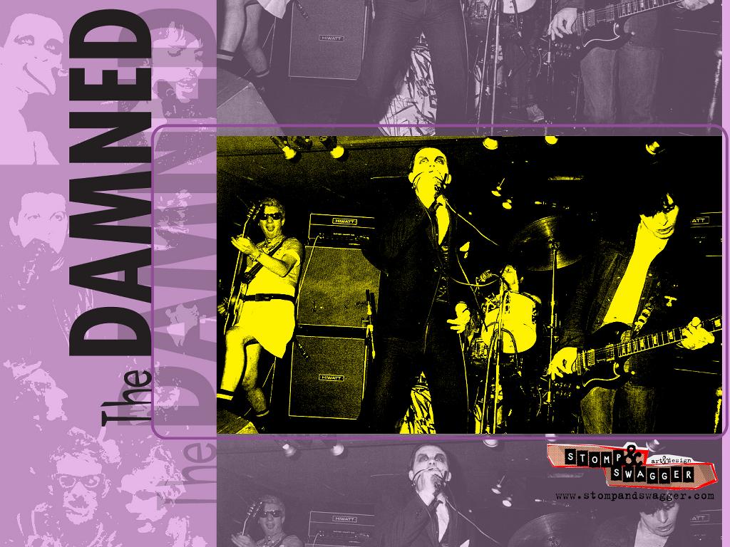 The Damned  —образована в 1975 году в Англии (Лондон).