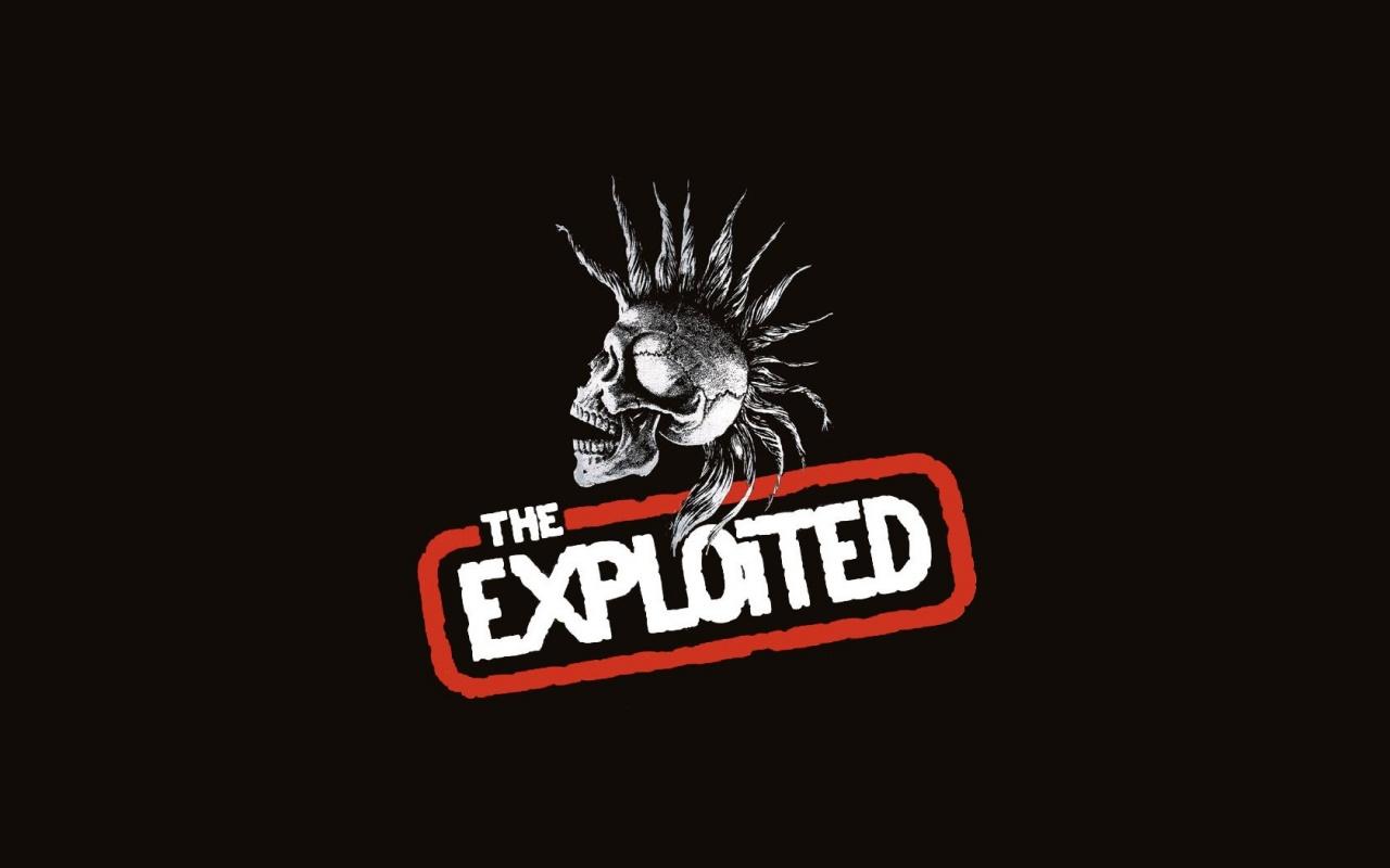 The Exploited, коллектив волны панк – рока, играющая хардкор – панк.