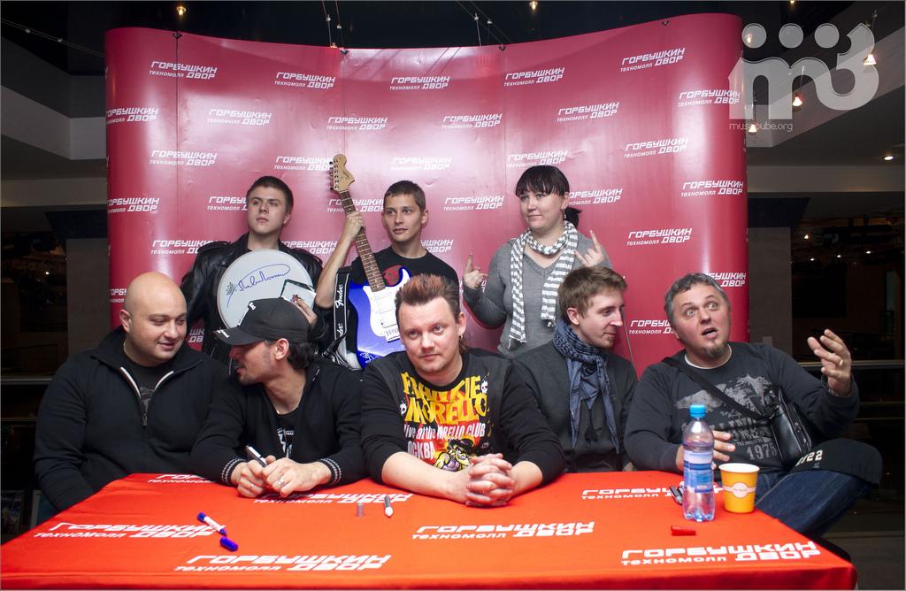 автограф-сессия  группы Андрея Князева  «КняZz»
