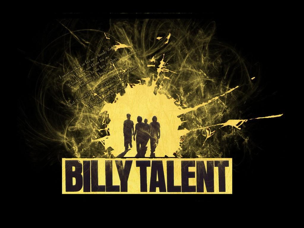 Billy Talent — рок-группа из Онтарио, Канада. Выступает с 1993 года по сей час в стиле альтернативного и панк-рока.
