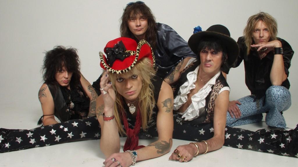 Hanoi Rocks-яркий пример глэм-панка