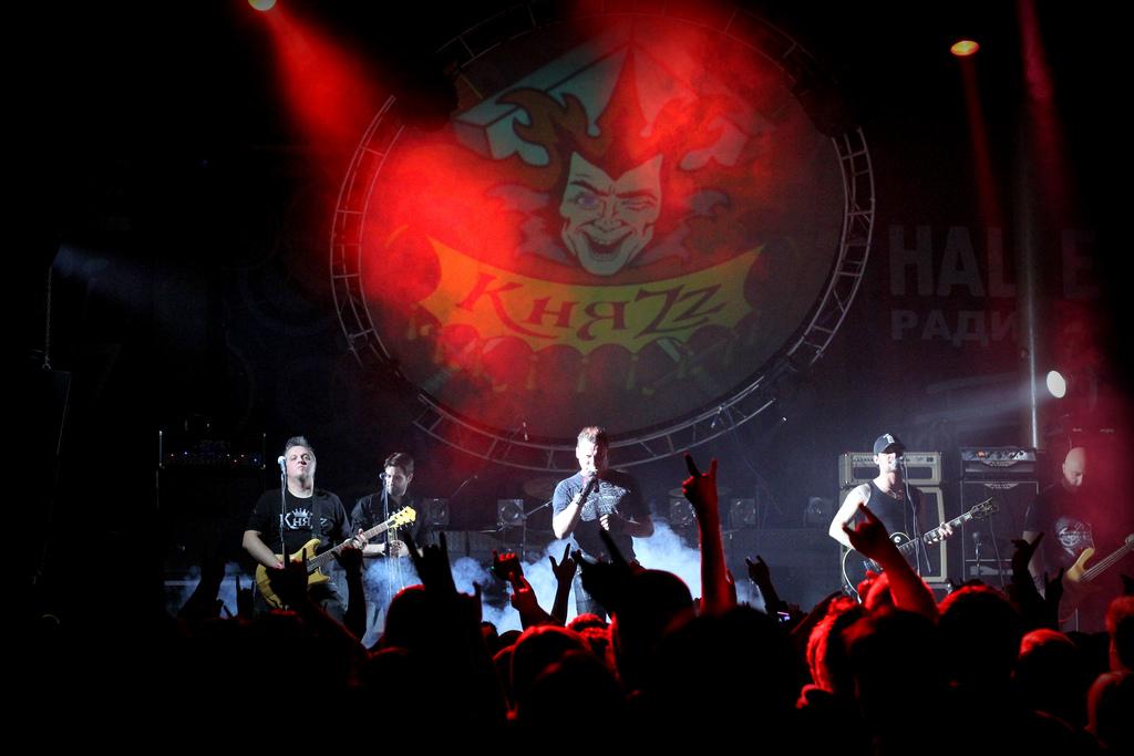 27.10.2012 на площадке концертного зала Live Music Hall состоялась Московская презентация нового альбома «Тайна Кривых Зеркал»  группы «КняZz».