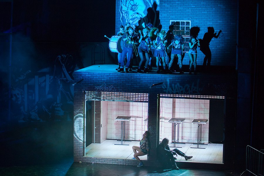"""Фотоотчет с предновогоднего спектакля """"TODD"""" - группа Король и Шут."""