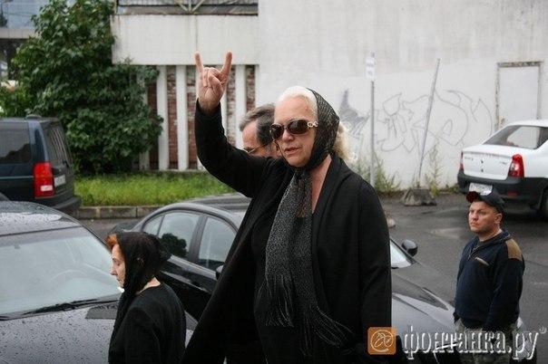 Прощанье с Михаилом Горшеневым.